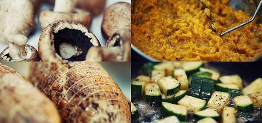 kyllinglår i ovn med grønnsaker