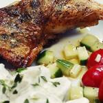 Sprøstekt kylling