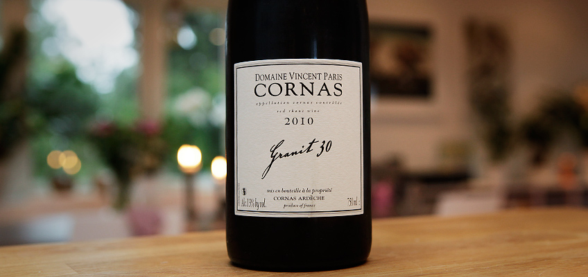 VINCENT PARIS CORNAS GRANIT 30 2010