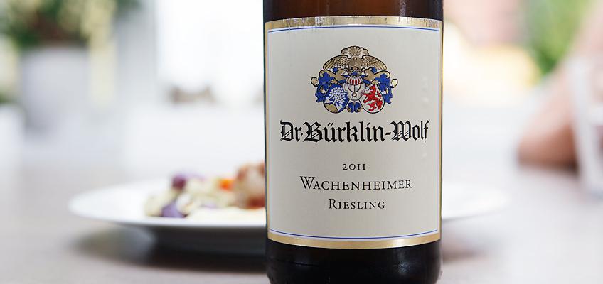 DR. BÜRKLIN-WOLF WACHENHEIMER RIESLING 2011
