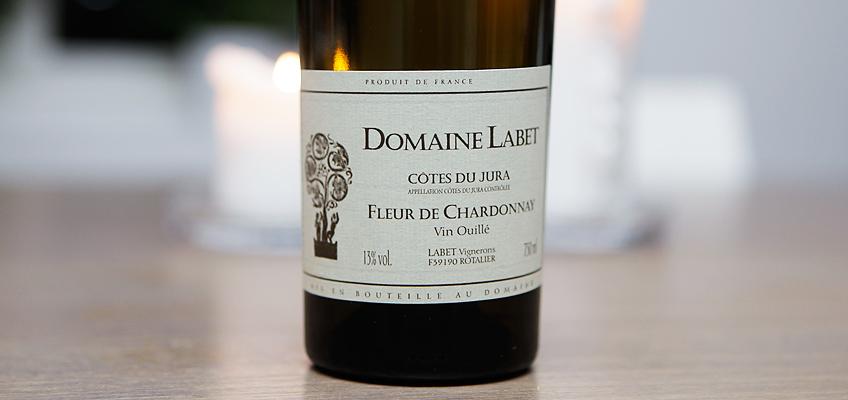 DOMAINE ALAIN LABET FLEUR DE CHARDONNAY 2010