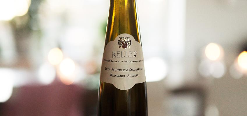 KELLER RIESLANER MONSHEIM SILBERBERG AUSLESE 2011